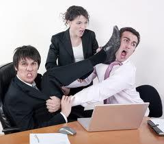 employee brawl