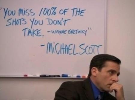 biz quote michael scott