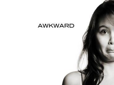 biz awkward word