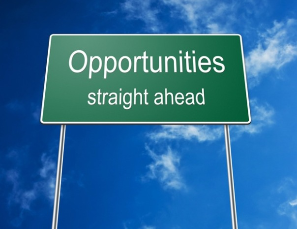 opportunities straigh ahead