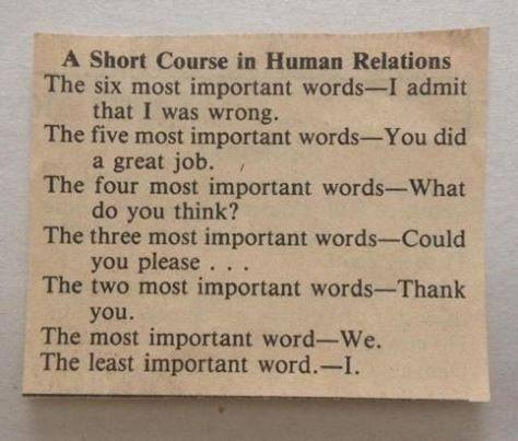 human relations made simple
